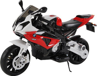 Motorbike In Black, Red And White Finish