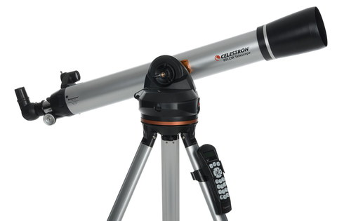 LCM 80 Computer NexStar Celestron Telescope With Silver Effect Coating