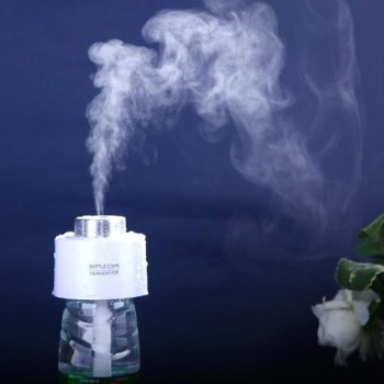 Compact Mini Aroma Humidifier With Vapour Rising