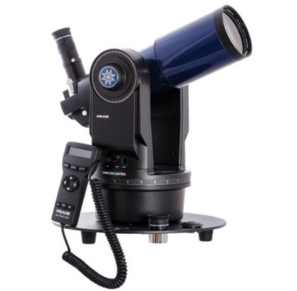 Meade ETX80 GoTo Telescope In Black And Blue Finish