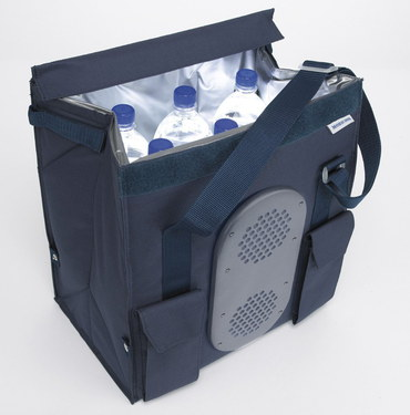 MobiCool S28 DC 12v Cooler For Car 28L In Navy Blue