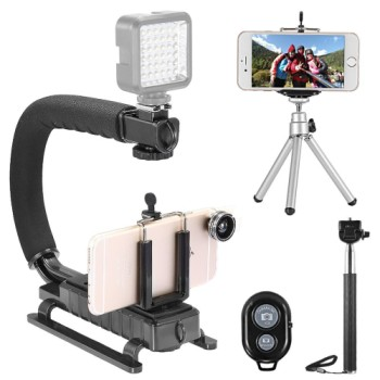 Photography Kit Tripod For iPhone 5 And 6 With Extension