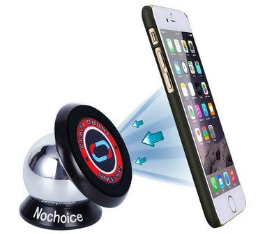 NoChoice Magnetic Dashboard Phone Mount With Ball Joint