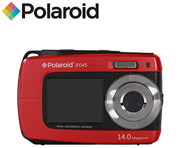Water Resistant Camera In Black And Red Casing