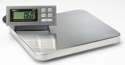 Parcel Scales In Silver Effect Finish