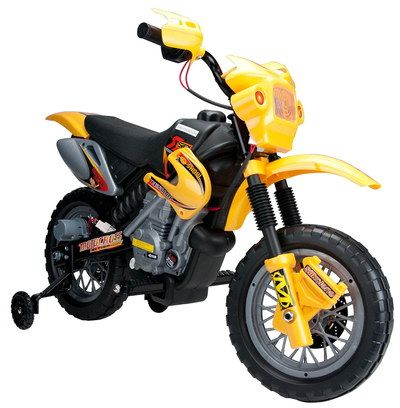 Motorbike For Kids In Yellow Exterior