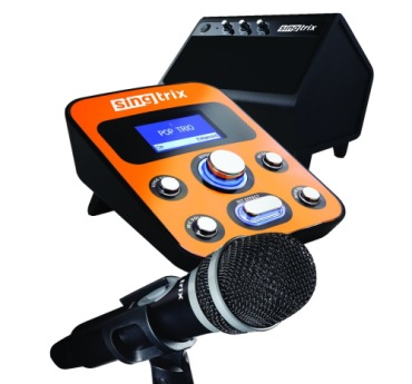 Home Karaoke Machine In Orange With Amp And Mic