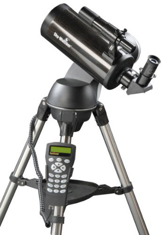 Skymax AZ GoTo Computerised Telescope On Black Metal Tripod