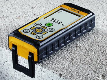 Laser Measurer In Black And Yellow Case