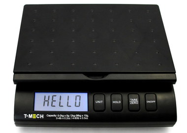 Scales With Free Adapter And Black Platform