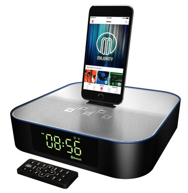 HD Audio Docking Station With Black Remote Unit