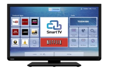 HD Equipped Smart LED TV With Black Frame