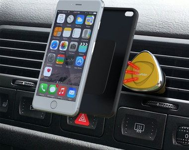 VeoPulse Rotating Universal Car Phone Holder With Big Mobile