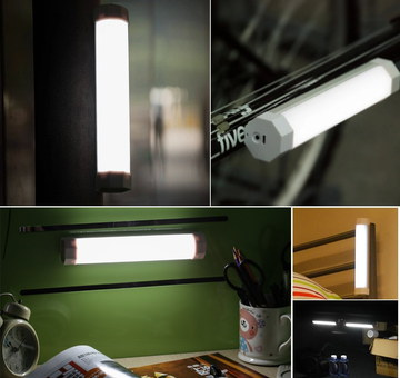 Wanway Magnetic Work Light LED Torch Fixed To Wall In Dark