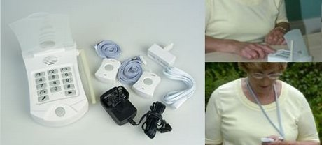 Wireless Panic Button For Elderly With Cables