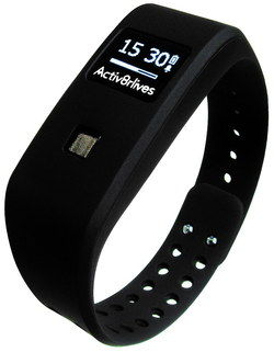 Water Proof Sleep Tracker With Alerts In Black