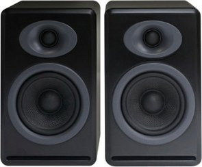 Potent But Small Bookshelf Speakers In Black