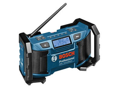 Construction Work Site Radio With Black Handles