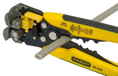 Strong Fat-Max DIY Wire Stripper In Yellow