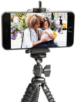 Flexible iPhone 5 Tripod With Black Exterior