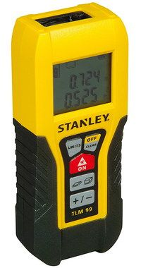 High Precision Laser Distance Measurer Black And Yellow