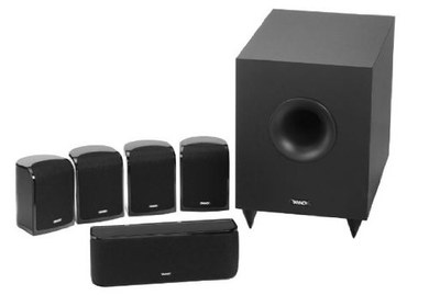 Fashionable TFX Home Cinema 5.1 Speaker Package x4 Small
