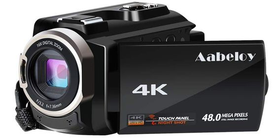 4K Digital Camcorder With Touch Panel