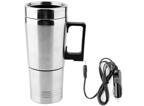 Portable Kettle In Chrome Steel