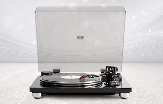 Vinyl Turntable Deck With Steel Tonearm