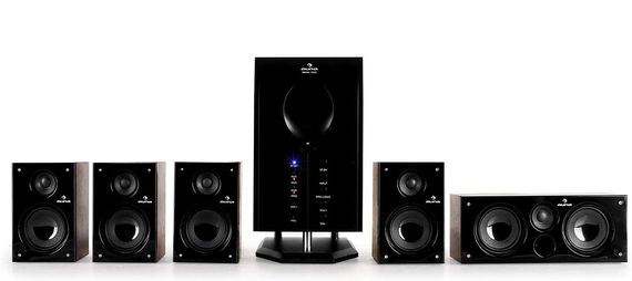 5.1 Surround Sound System In All Black Finish