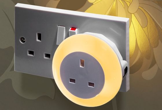 LED Hallway Night Light With 3 Pin