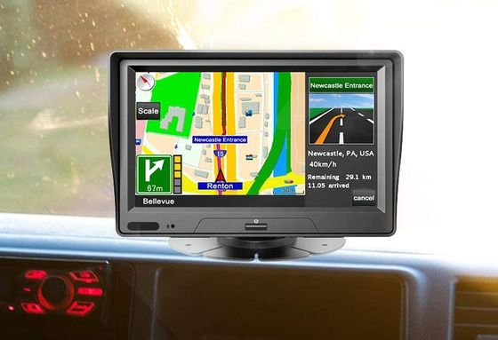 Bluetooth Sat Nav With Settings Button