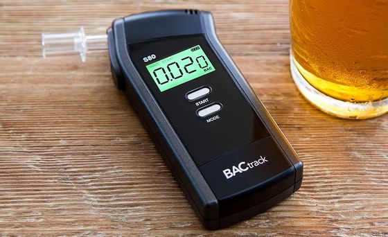 Black Alcohol Breath Analyser With Pint Of Lager