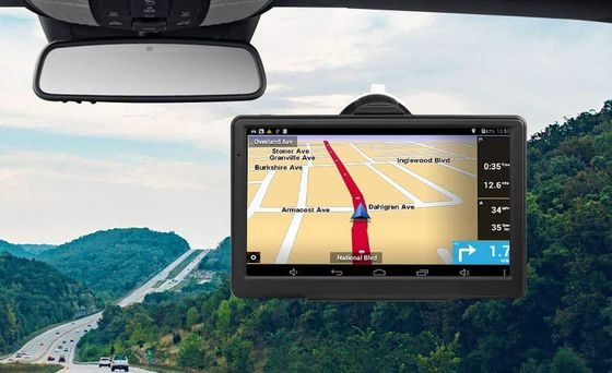 GPS Unit Showing Motorway