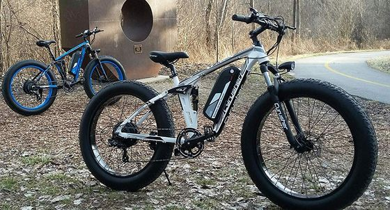 Fat Bike With Black Frame