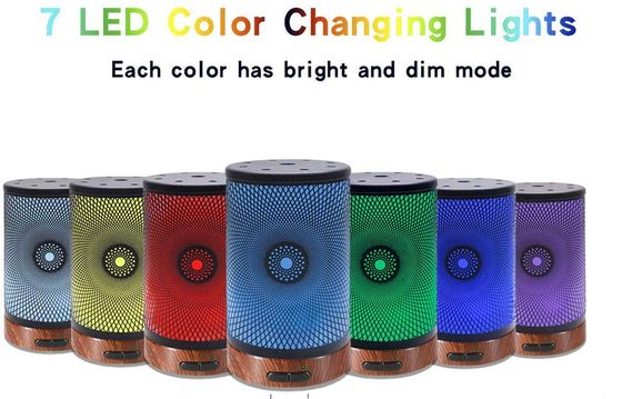 Ultrasonic Diffuser In 7 LED Colours