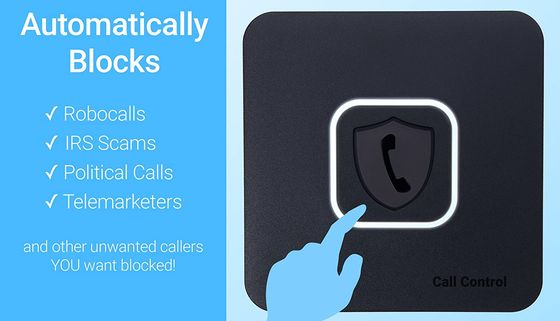 Home Nuisance Call Blocker In Black
