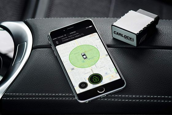 OBD Tracker GPS In Steel With Mobile Phone