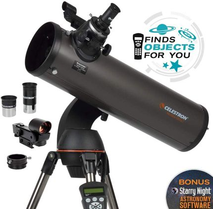 Astronomical Telescope With Accessories