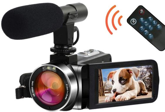 HD Camcorder With Rotating Display