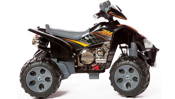 Quad Bike For Teenager With Throttle In Black