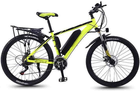 Ladies Electric Road Bike With Yellow Frame