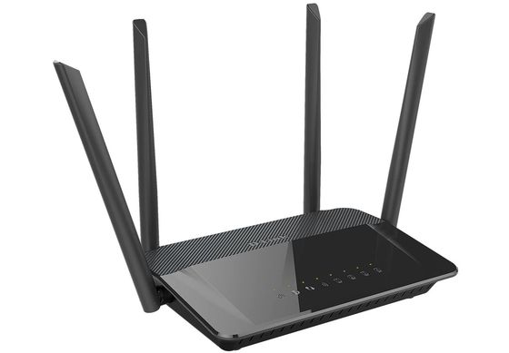 Ethernet WiFi Router With Black Exterior