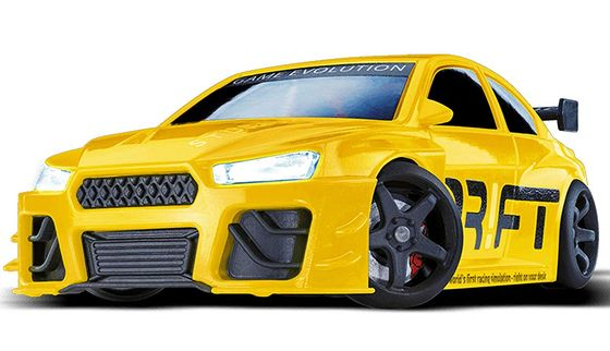 Remote Control Drift Car In Bright Yellow
