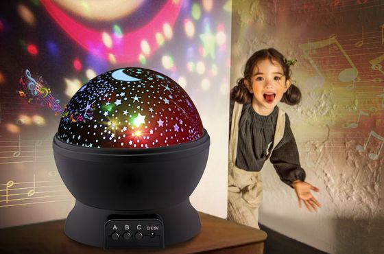 Baby Night Light Projector With Black Base