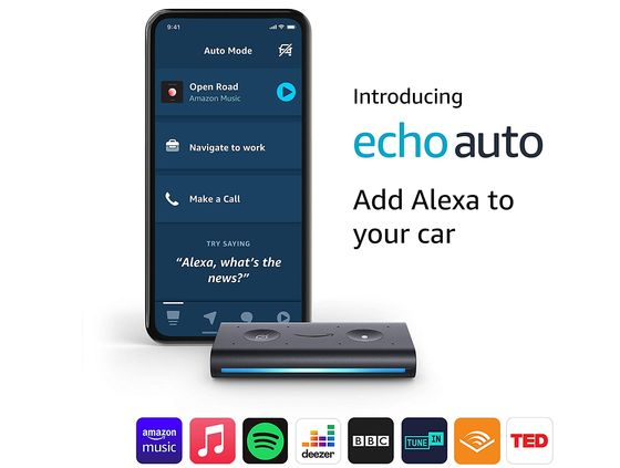 Slim Alexa Devive For Your Car