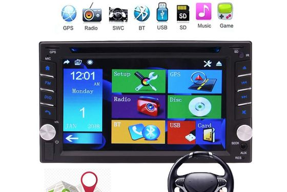 Double DIN Bluetooth Car Stereo With USB Port