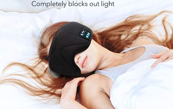 Bluetooth Headband Headphone Black Mask
