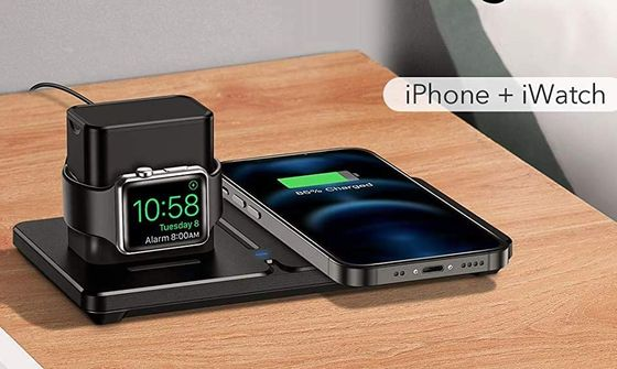 Qi Charger For Watch And Smartphone