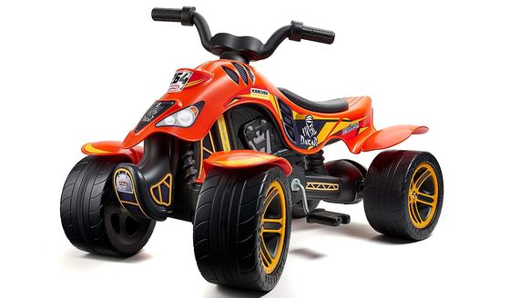 Pedal Quad Bike With Broad Wheels